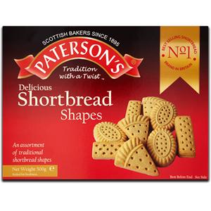 Paterson's Shortbread & Biscuit Assortment 2x500g