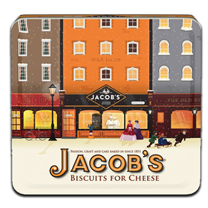 Jacob's Biscuits For Cheese Tin 300g