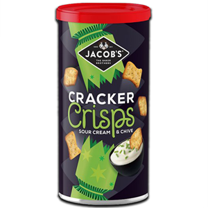Jacob's Cracker Crisps Sour Cream & Chive 230g