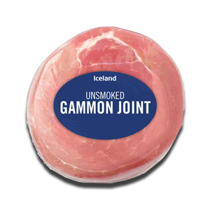 Iceland Unsmoked Gammon Joint 2Kg