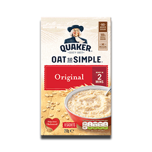 Quaker Oat So Simple NAS Original 8 Sachets 216g