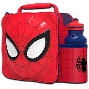 Marvel Ultimate Spiderman Bag and Bottle