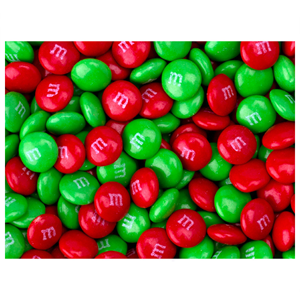 M&M's Milk Chocolate Red & Green Unit 13g