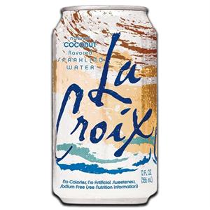 La Croix Coconut Sparkling Water 355ml