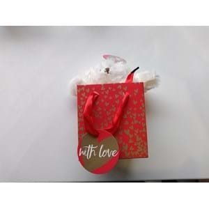 Hearts of Gold Bear in a Gift Bag 150g