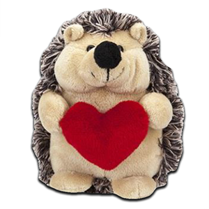 Hedgehog With Love Heart 100g