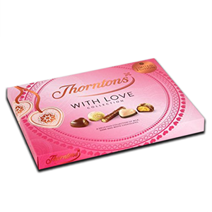 "Thorntons ""With Love X'' Chocolate Valentine Gift Box 150g"