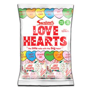 Swizzels Originals Love Valentine Hearts 170g