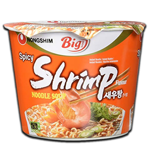 Nongshim Big Bowl Spicy Shrimp Noodle Soup 115g