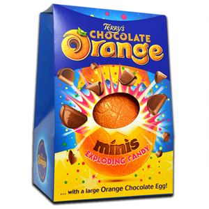 Terry's Chocolate Orange Minis Exploding Candy Egg 266g