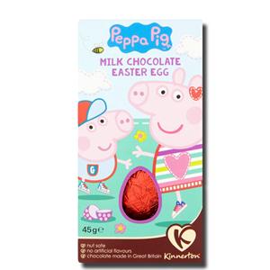 Kinnerton Peppa Pig Egg 62g