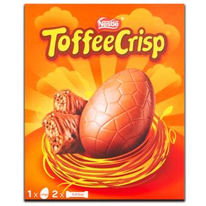 Nestlé Toffee Crisp Large Egg 256g