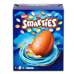 Nestlé Smarties Chocolate Egg & Bars 256g