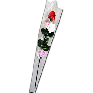 Belgian Milk Chocolate Rose Valentine 18g
