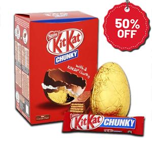 Nestlé KitKat Chocolate Egg & Bars 260g