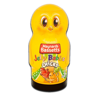 Maynards Bassetts Jelly Babies Chicks 495g