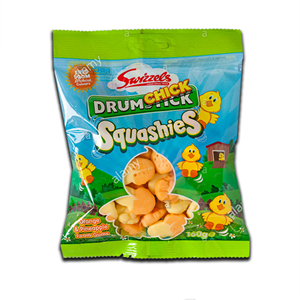 Swizzels Drumchick Squashies Orange & Pineapple 160g