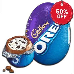 Cadbury Oreo Chocolate Mini Egg 31g