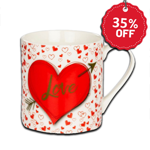 "Valentines Day ""Love"" Mug"