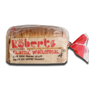 Roberts Medium Sliced Wholemeal 800g
