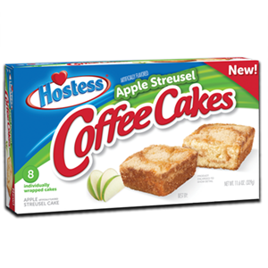 Hostess Apple Streusel Coffee Cakes 40g