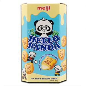 Meiji Hello Panda Milk Filling 50g