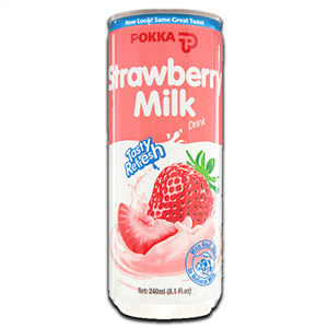 Pokka Strawberry Milk Drink 240ml