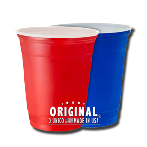 USA Blue or Red Cup Unit 30cl