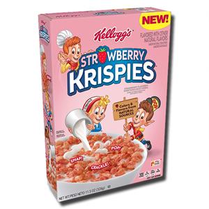 Kellogg's Strawberry Rice Krispies 326g