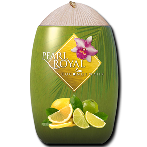 Pearl Royal Coconut Water Lemon & Lime Flavour 310ml
