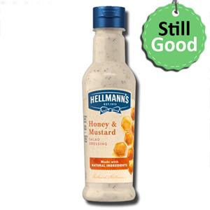 Hellmann's Honey Mustard Salad Dressing 210ml