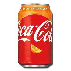 Coca Cola Vanilla Orange 355ml