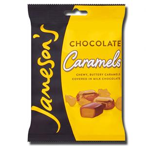 Jameson's Chocolate Caramels 135g