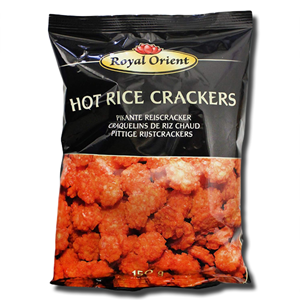 Royal Orient Hot Rice Crackers 150g
