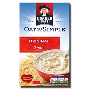 Quaker Oat So Simple Original 8's 216g