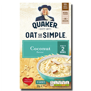 Quaker Oat So Simple Coconut 12's 324g