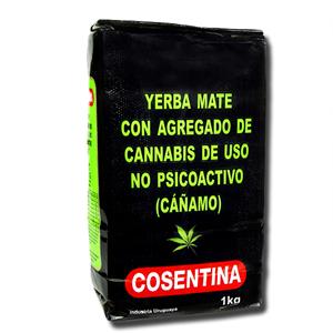Cosentina Cannabis Yerba Mate Cánamo 1kg