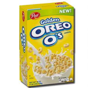 Post Golden Oreo O's Cereal 311g