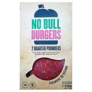 Iceland No Bull 2' Quarter Pounders Burgers 226g