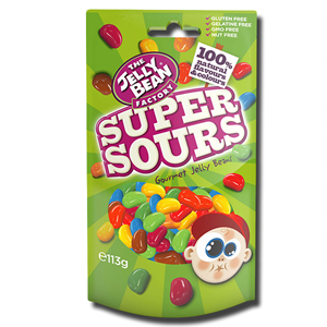 The Jelly Bean Factory Super Sour Mix 113g