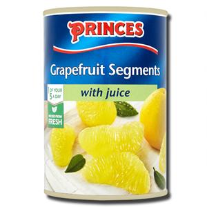 Princes Grapefruit Segments with Juice 411g