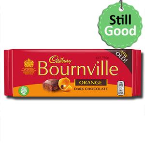 Cadbury Bournville Dark Chocolate Orange 100g