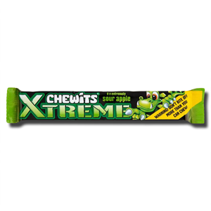 Chewits Xtreme Sour Apple 34g
