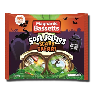 Maynards Bassets Soft Jelly Scary Safari 284g