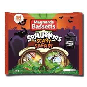 Maynards Bassets Soft Jelly Scary Safari 284g