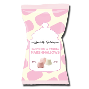 Coop Vanilla and Raspberry Marshmallows 160g