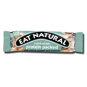 Eat Natural Protein Packed with Salted Caramel&Peanuts 45g