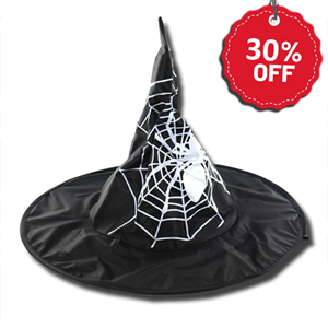 Haunted House Child's Witch Hat