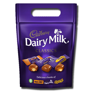 Cadbury Dairy Milk Classics Bag 372g