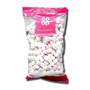 Coop Marshmallows Mini Coloured 150g